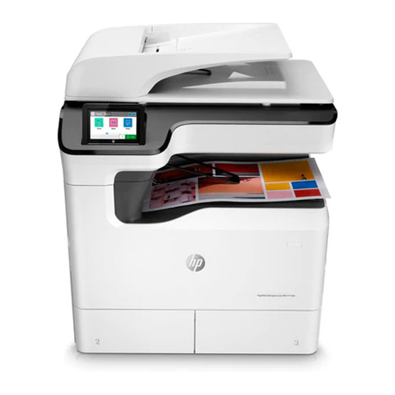 HP PageWide Managed P77440dn - Vista frontal